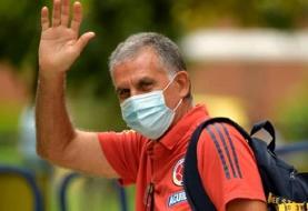 خداحافظی کارلوس کیروش از نیمکت کلمبیا