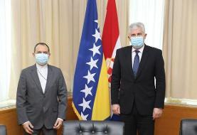استقبال معاونین مجالس بوسنی و هرزگوین از توسعه روابط با ایران