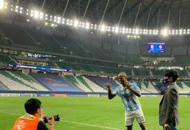 خوشحالی دیاباتهای در لیگ قهرمانان آسیا/عکس