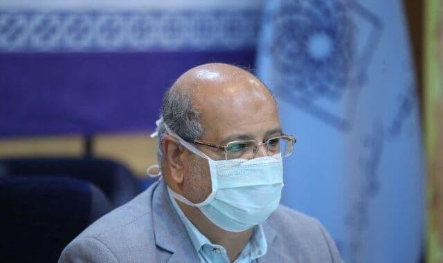 زالی: تردد درون شهری تهران بیش از ۵۹ درصد کاهش یافت