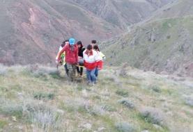 نجات ۲ کوهنورد گمشده در ارتفاعات طارم سفلی