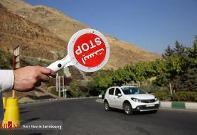 برگشت ۷ هزار خودرو از مبادی ورودی شهرستانهای استان مازندران
