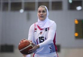 (تصاویر) بسکتبالیستهای محجبه آمریکا و روسیه در لیگ ایران!
