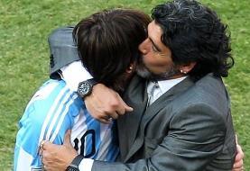 ادای احترام مسی به دیگو مارادونا؛ دیگو ابدی است