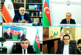 مسائل دوجانبه و شرایط پسا جنگ قرهباغ محور رایزنی وزاری خارجه ایران و آذربایجان