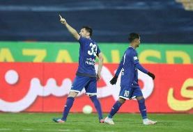 پیروزی استقلال مقابل ماشینسازی با تک گل ۳ امتیازی میلیچ