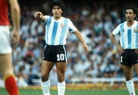 ادای احترام به اسطوره فوتبال جهان دیهگو مارادونا
