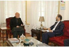 رایزنی سخنگوی وزارت امور خارجه با رییس جمهور سابق افغانستان