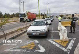 کاهش ۳۷ درصدی تردد خودروهای شخصی در جاده ها