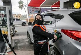 (عکس) تابوشکنی دختر فلسطینی با کار کردن در پمپ بنزین