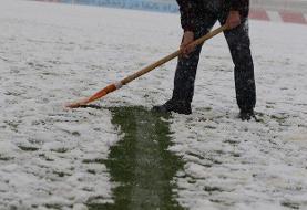 دیدار تراکتور-سپاهان به خاطر بارش برف لغو شد