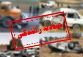 فوت جوان ۲۷ ساله در حادثه رانندگی آزادراه تبریز- زنجان