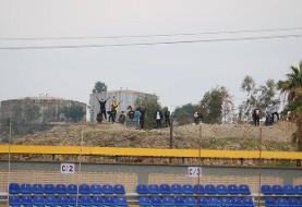 حضور هواداران در بازی نفت مسجدسلیمان - پرسپولیس