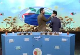 ویدئو | سیلی مجری شبکه ۳ به گوش مهمان در برنامه زنده!