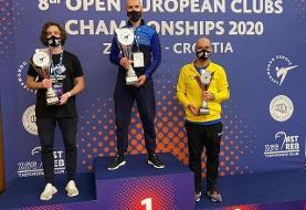 سومی شاگردان یوسف کرمی در تکواندوی جام باشگاههای اروپا