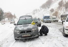بحران برف در آذربایجانغربی؛ برق ۲ شهر قطع شد