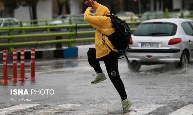 هشدار هواشناسی نسبت به تشدید بارشها در ۱۸ استان کشور از امروز
