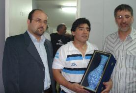 پیراهنی که به جای موزه به احمدی نژاد رسید!