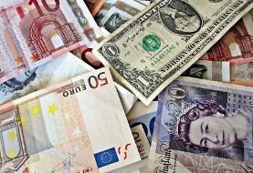 قیمت دلار و یورو و سایر ارزها امروز ۷ آذرماه