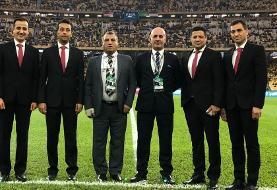 تصویر | اولین قضاوت فغانی در لیگ قهرمانان آسیا