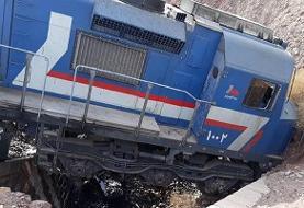 خروج قطار باری از ریل در محورهای راهآهن اصفهان