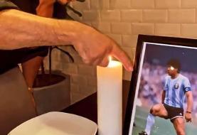آشپز ترکیهای میز مارادونا را بایگانی کرد!/عکس