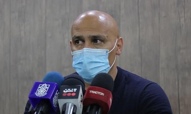 حرفهای جالب منصوریان بعد از شکست تراکتور مقابل سپاهان
