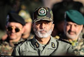 فرمانده کل ارتش: حق انتقام از دشمنان برای جمهوری اسلامی محفوظ است