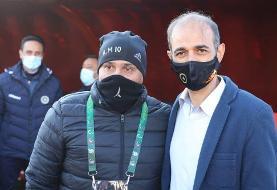 نویدکیا و منصوریان پیش از دیدار مهم هفته سوم/عکس
