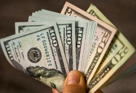 ریزش دلار در معاملات جهانی