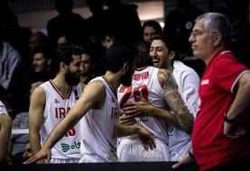انتخابی بسکتبال کاپ آسیا/ نیمه اول: ایران ۳۸ – ۳۳ عربستان