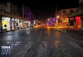 اجرای محدودیت ترافیکی شبانه معابر درون شهری در سنندج