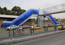پلیس: امنیت زنها در پایتخت بسیار عالی است | کنترل نامحسوس پلهای عابرپیاده