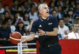 صحبتهای سرمربی تیم ملی بسکتبال پس از به زیر کشیدن سعودیها