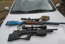 وقوع شکار کبک در مناطق حیاتوحش دامغان/۳ شکارچی دستگیر شدند
