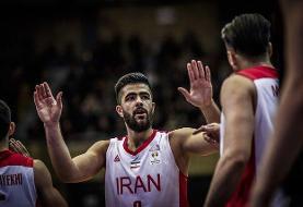 آمار بازی تیم ملی بسکتبال مقابل عربستان/ یخچالی ستاره میدان شد