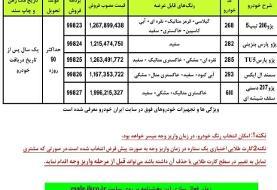 فروش فوق العاده جدید ایران خودرو از فردا (۹۹/۰۹/۰۹)
