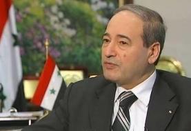 وزیر خارجه سوریه ترور شهید فخری زاده را محکوم کرد