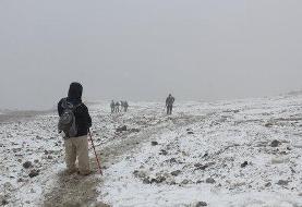 ۶ روز از مفقودی کوهنورد اصفهانی در دماوند گذشت