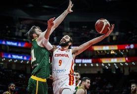 برد سخت بسکتبالیستهای ایران مقابل عربستان