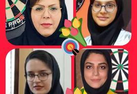 اتفاق جالب در فینال دارت ایران؛ دختر، مادر را برد وقهرمان شد!