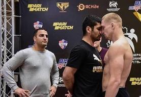 فایتر ایرانی در MMA شکست خورد