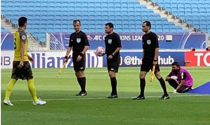 اولین قضاوت تیم ایرانی در لیگ قهرمانان آسیا/عکس