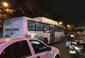 ازدحام در اتوبوسها همزمان با محدودیتهای کرونایی