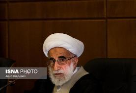 آیتالله جنتی: نیروهای امنیتی با رصد اطلاعاتی، عناصر پلید ترور فخریزاده را شناسایی کنند