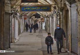 وضعیت شب و روز خیابانهای تهران در نهمین روز قرنطینه | تکلیف تردد کادر درمان و تاکسیهای ...