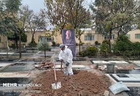 پرویز پورحسینی به خانه ابدی بدرقه شد