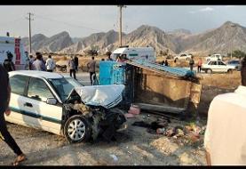 ۲۲ مصدوم در تصادف ۲ خودرو در دیر