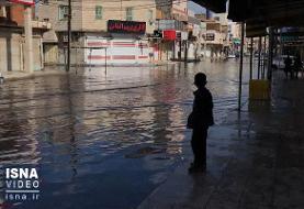 ویدئو / باز باران، باز آبگرفتگی در اهواز