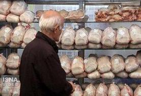 توزیع روزانه ۹۵۰ تن مرغ گرم و منجمد با قیمت مصوب در تهران